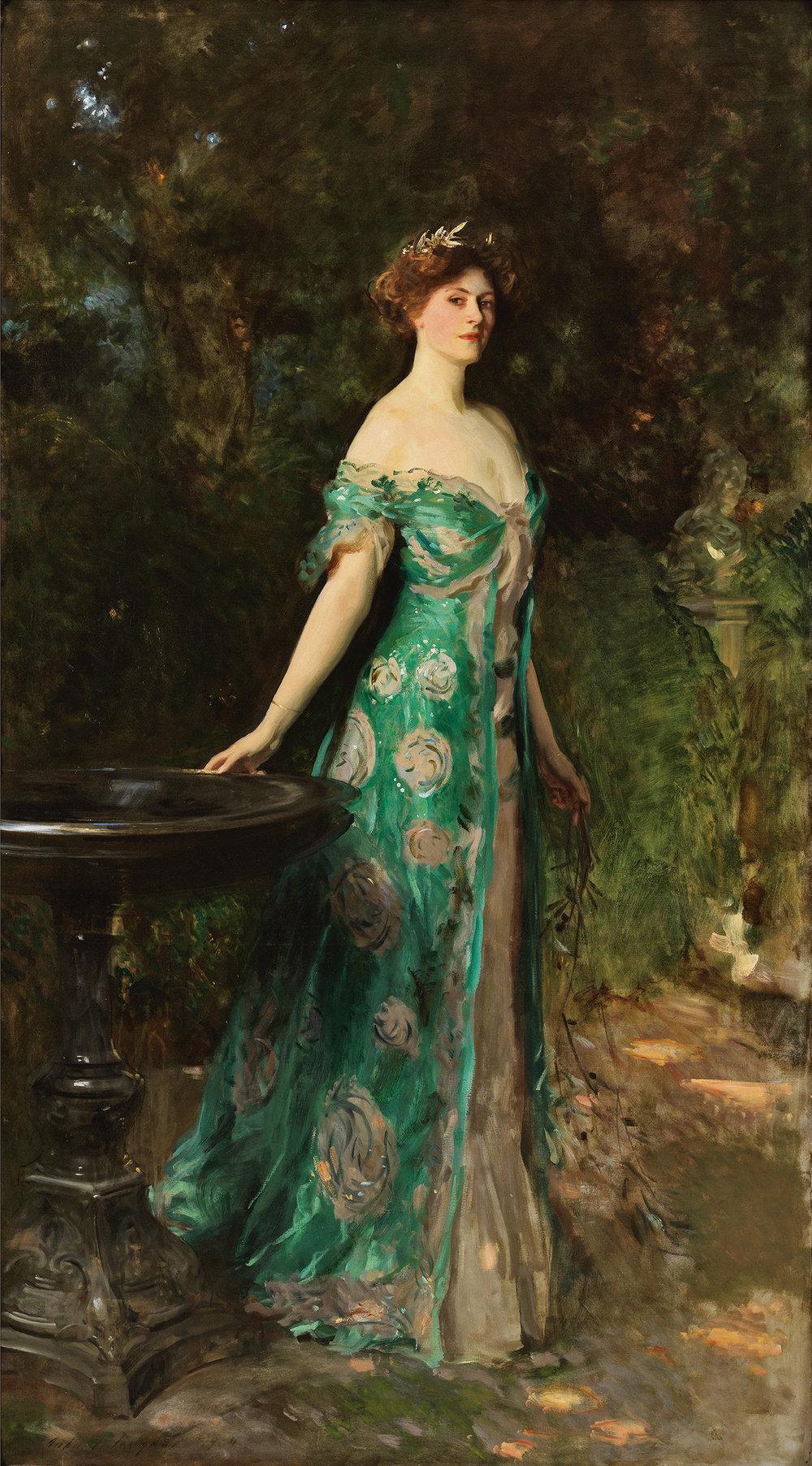 Retrato de Milicent, duquesa de Sutherland. 1904 · John Singer Sargent. © Museo Thyssen-Bornemisza, Madrid
