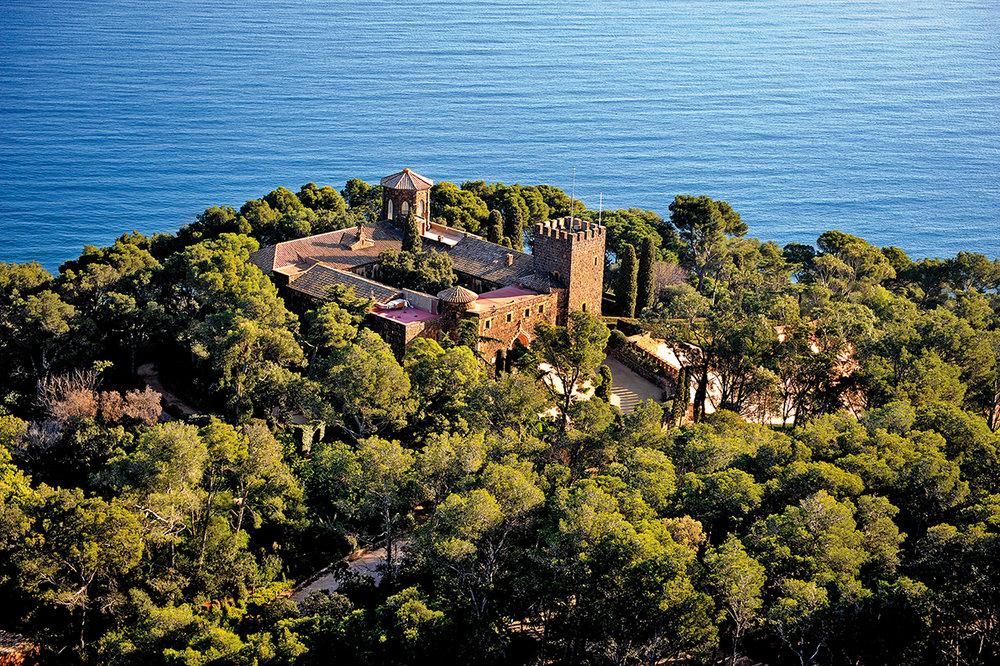 Castell de Cap Roig, Calella de Palafrugell. J. Guisado. Archivo de Imágenes PTCBG.