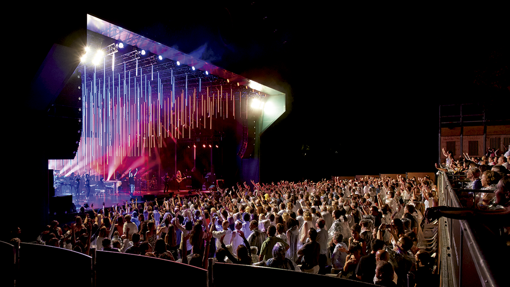 Escenario Auditorio en el Festival de Peralada.
