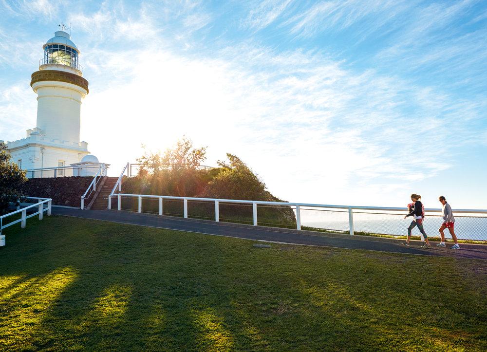 Cape Byron Lighthouse. Byron Bay. © Hugh Stewart. Tourism Australia.
