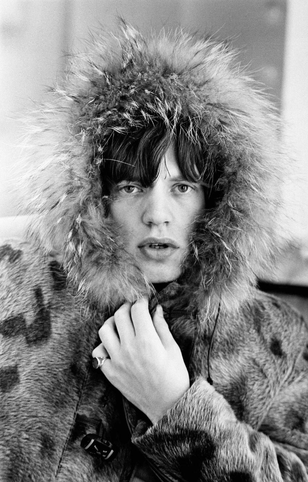 """Mick's Parka"" © Terry O'Neill. London, 1964."