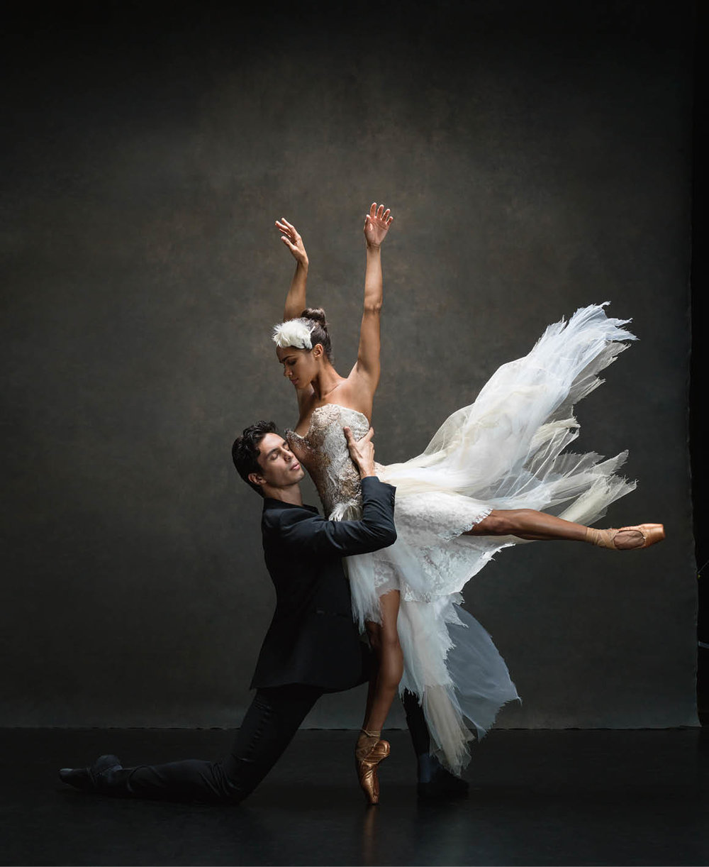 Misty Copeland and Alex Hammoudi © Ken Browar and Deborah Ory · www.nycdanceproject.com.