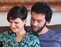 Cindy et Calixte, de Bretagne,ont trouve une maison a Berkeley, CA
