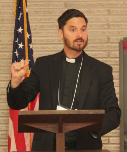Presentation by the Rev. Thompson