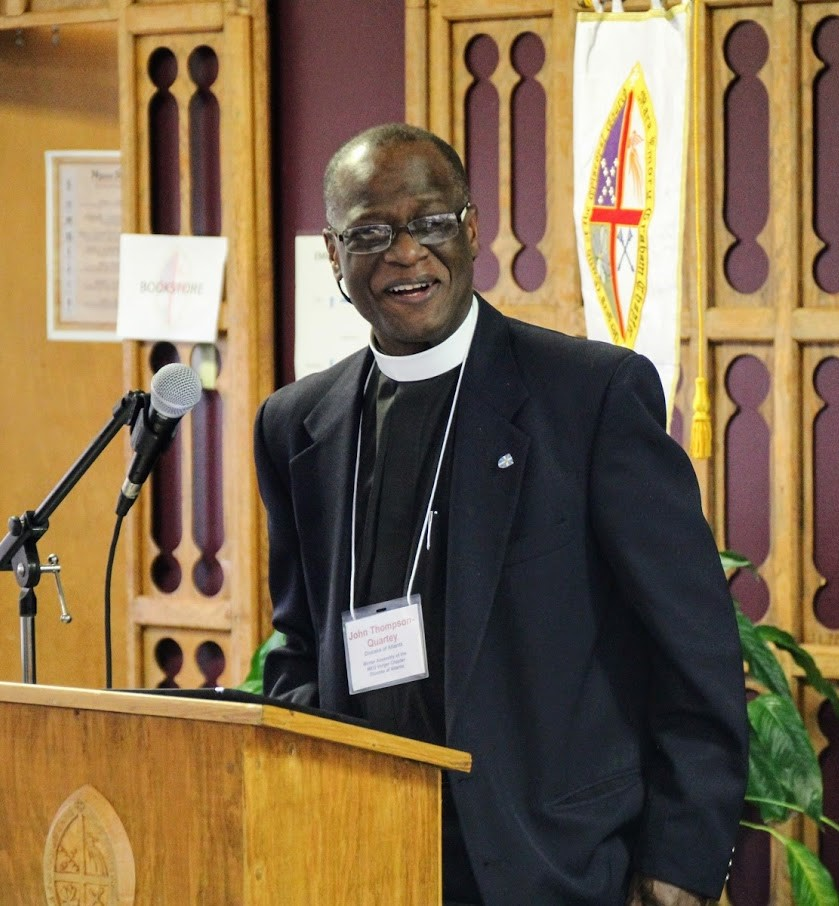 Canon John Thompson-Quartey Photo:  Bill Monk