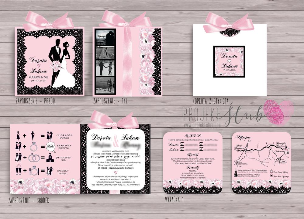 zaproszenia-ślubne-eleganckie-glamour--eleganckie-czarna-koronka-pudrowy-róż-projekt-ślub.png