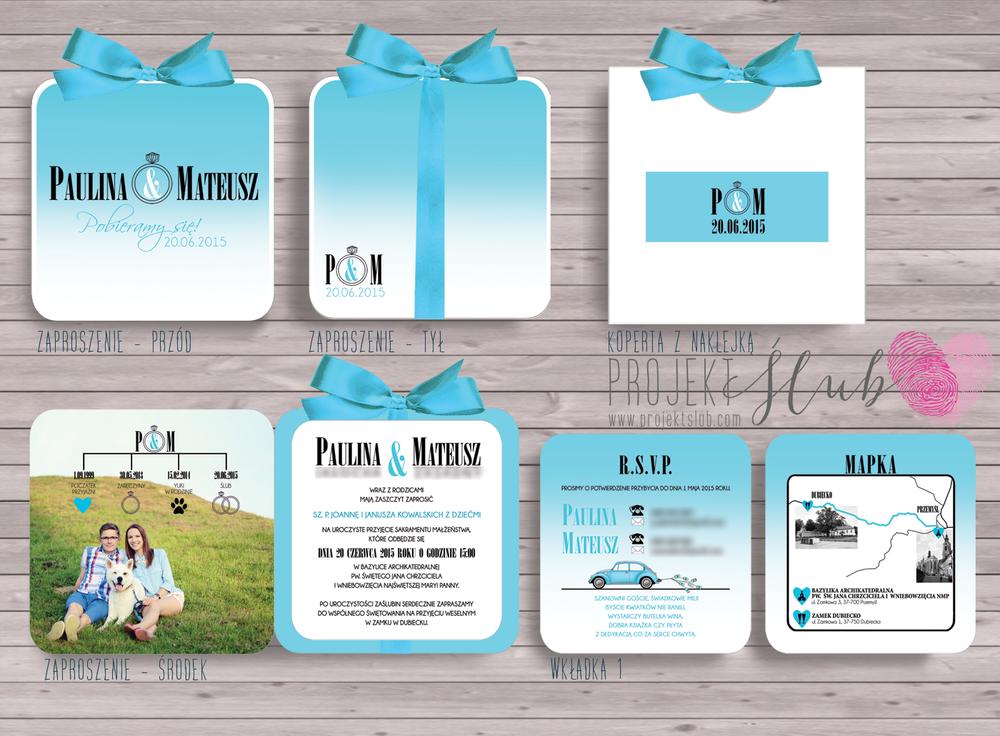 zaproszenia-ślubne-ombre--tiffany-blue-biel-błękit-mięta-eleganckie-zaproszenia-z-białą-wstążką-projekt-ślub.png