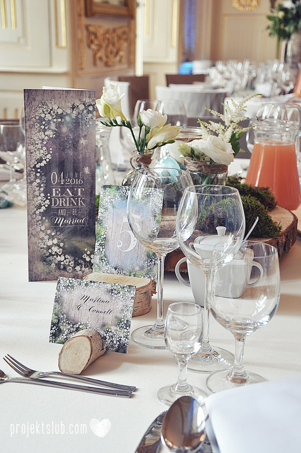 papeteria ślubna wesele w stylu rustykalnym w pałacu pod baranami projekt ślub (13).JPG