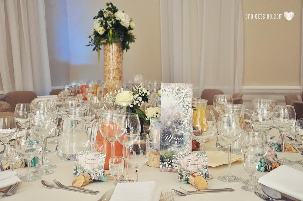 papeteria ślubna wesele w stylu rustykalnym w pałacu pod baranami projekt ślub (25).JPG