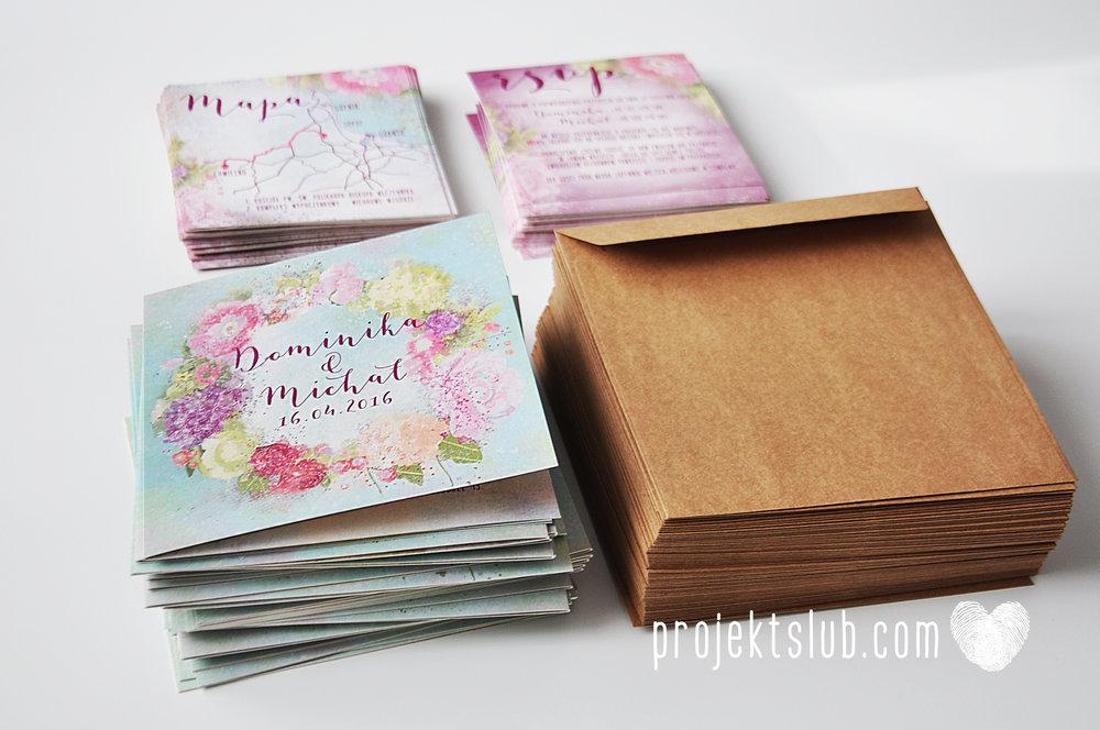 Zaproszenia ślubne oryginalne BOHO WIANEK vintage błękit pastele kwiaty romantyczne rustykalne oryginalny Projekt Ślub mięta (5).jpg
