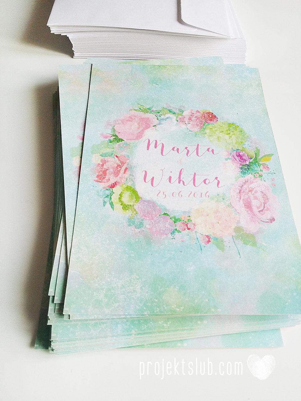 Zaproszenia ślubne oryginalne BOHO WIANEK vintage błękit pastele kwiaty romantyczne rustykalne oryginalny Projekt Ślub mięta (6).jpg