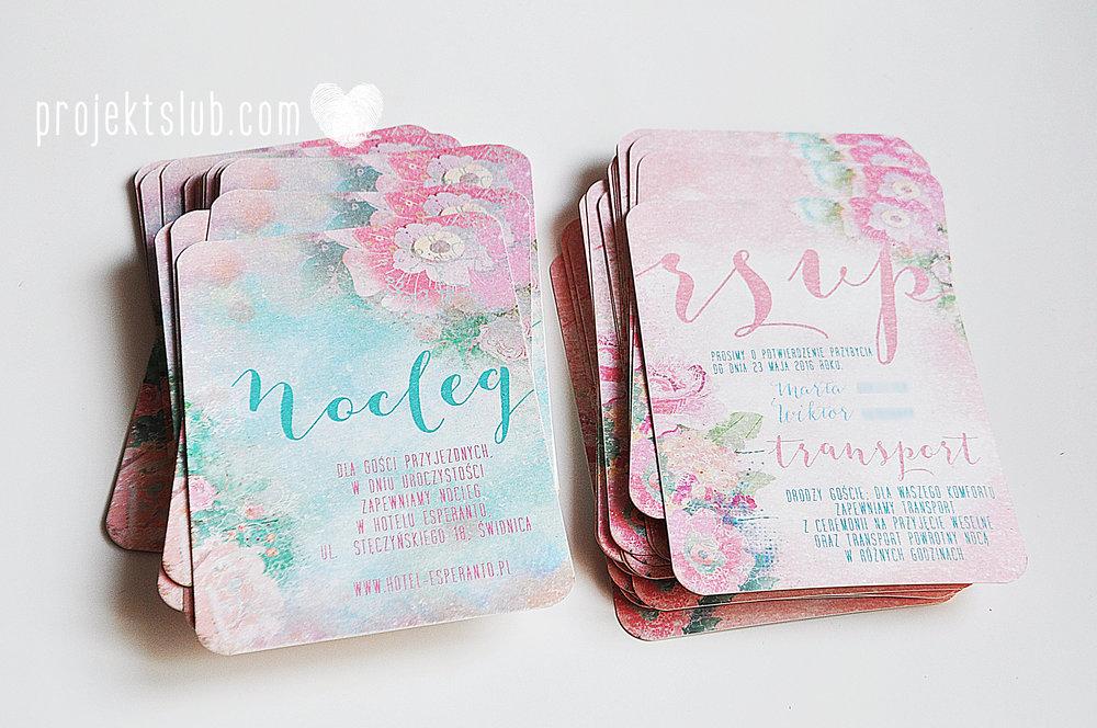 Zaproszenia ślubne oryginalne BOHO WIANEK vintage błękit pastele kwiaty romantyczne rustykalne oryginalny Projekt Ślub mięta (8).jpg