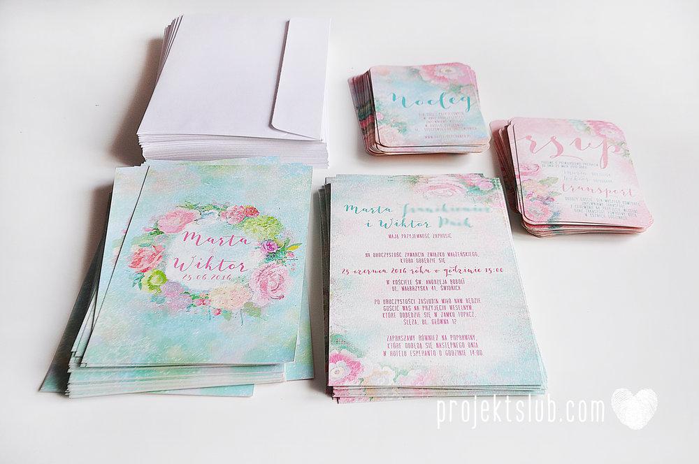 Zaproszenia ślubne oryginalne BOHO WIANEK vintage błękit pastele kwiaty romantyczne rustykalne oryginalny Projekt Ślub mięta (12).jpg