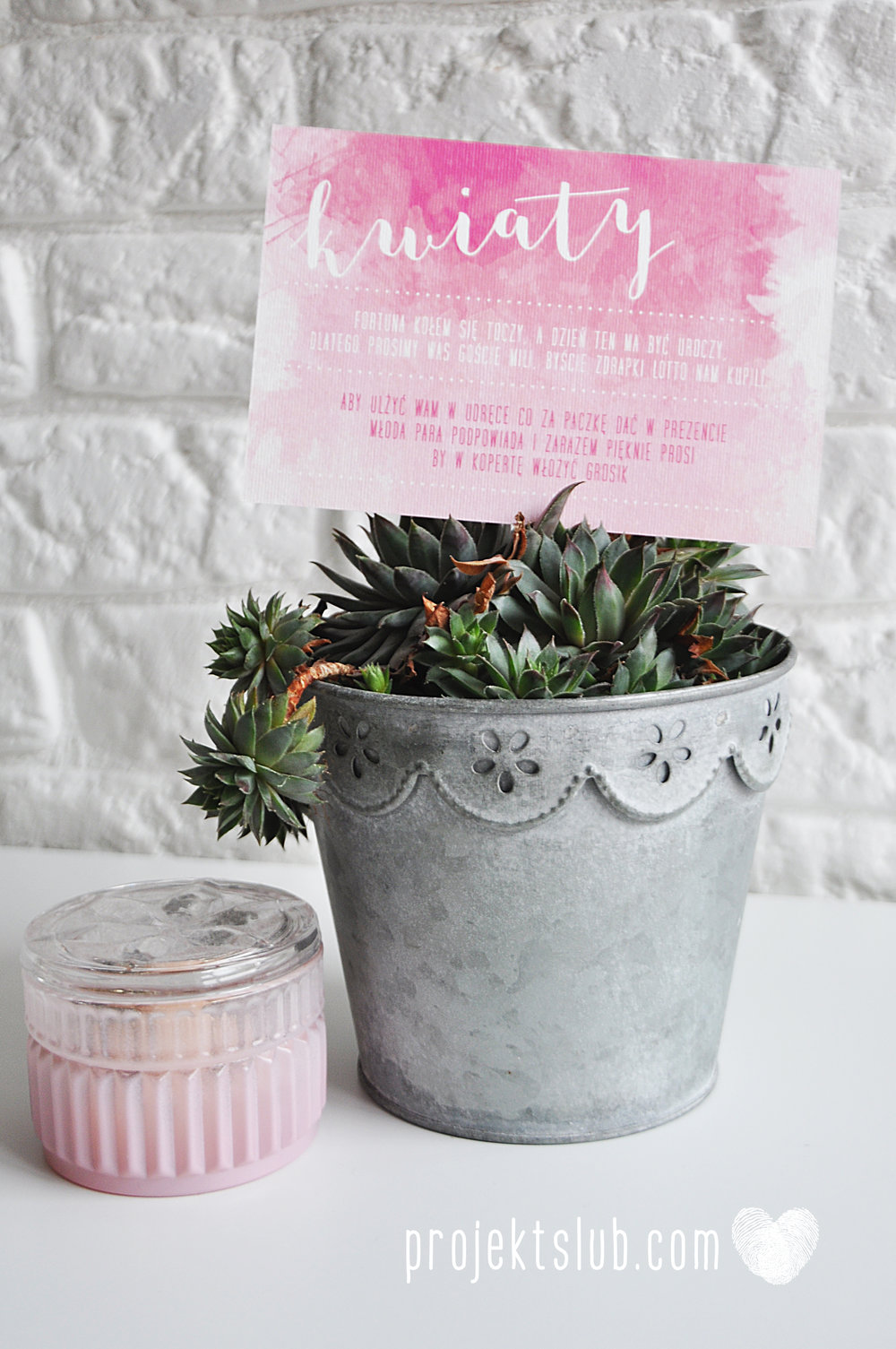 Zaproszenia Ślubne Boho Rustic Eko Oryginalne Wyjątkowe Rustykalne Sznurek Akwarelowe Róż Ombre Projekt Ślub (1).jpg
