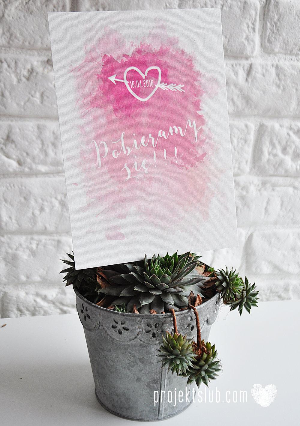 Zaproszenia Ślubne Boho Rustic Eko Oryginalne Wyjątkowe Rustykalne Sznurek Akwarelowe Róż Ombre Projekt Ślub (2).jpg