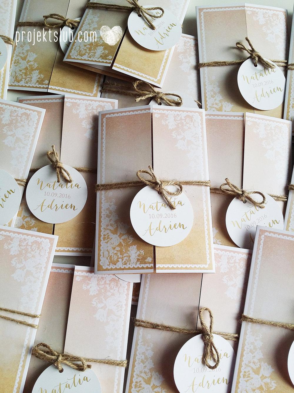 Zaproszenia ślubne rustykalne oryginalne wyjątkowe rustic eleganckie złoty róż ornamenty Projekt Ślub (36).jpg