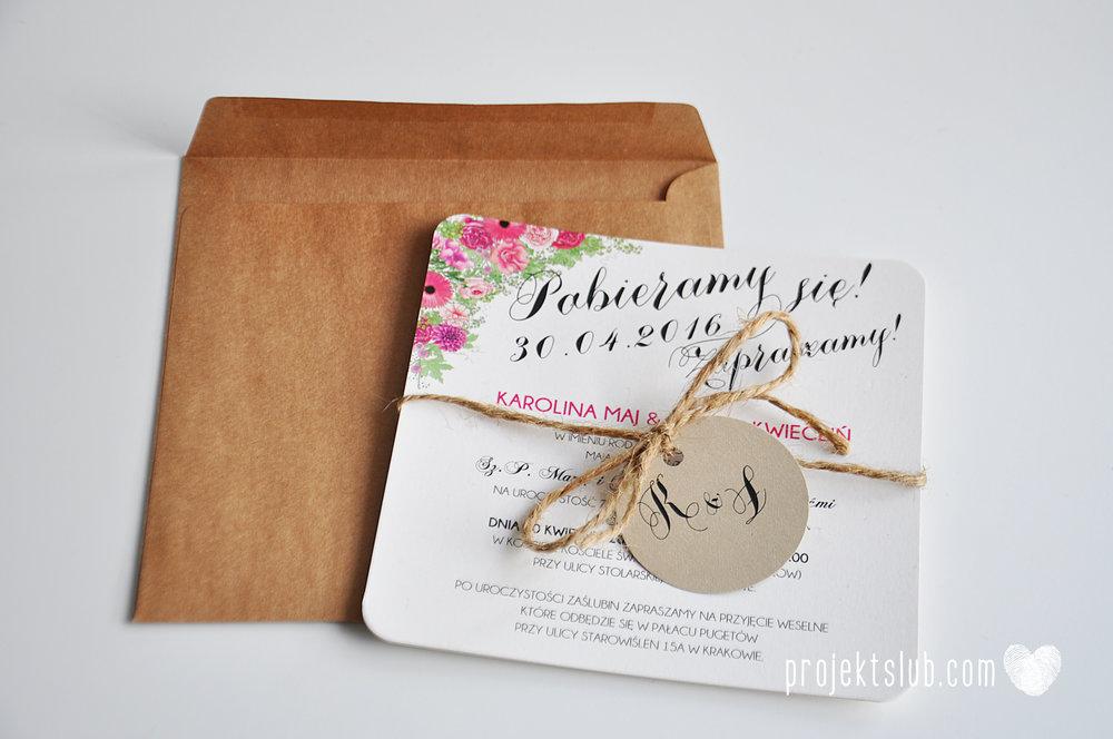 Zaproszenie ślubne BOHO PIÓRA rustykalne wesele złoto brąz bohema indiańskie pióra Projekt Ślub (7).jpg