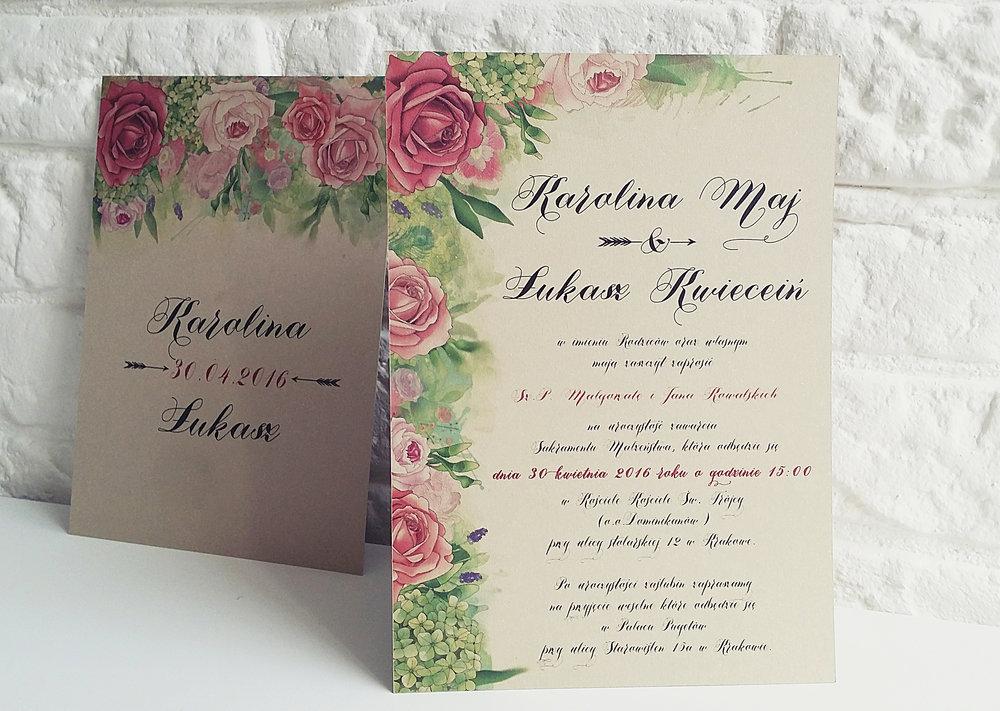 Zaproszenie ślubne BOHO PIÓRA rustykalne wesele złoto brąz bohema indiańskie pióra Projekt Ślub (13).jpg