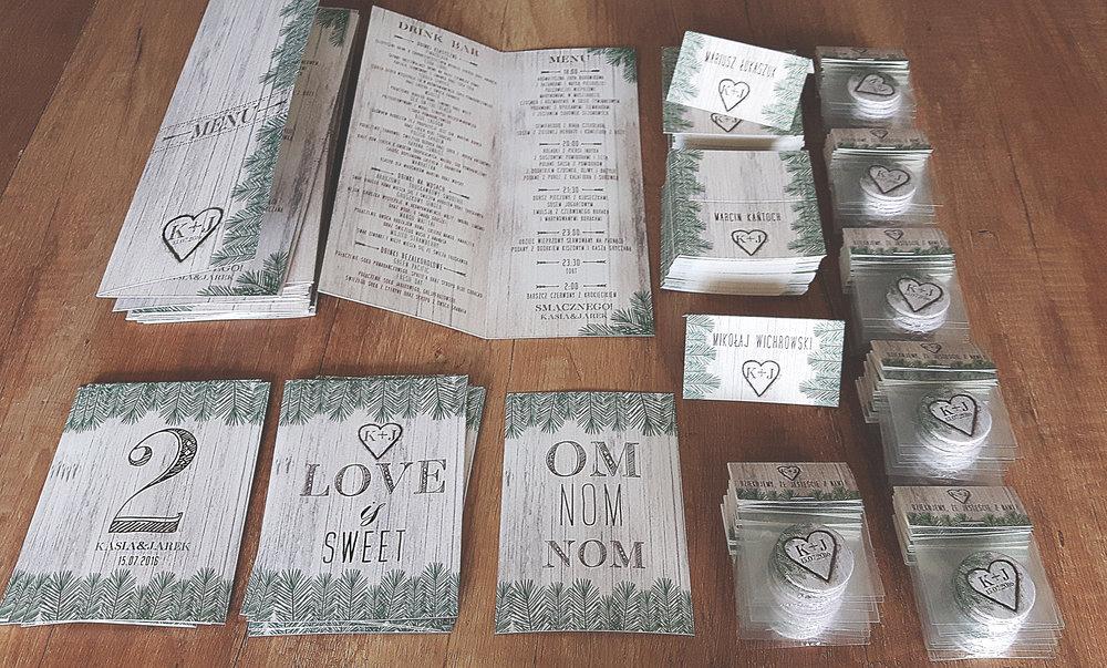 Zaproszenia ślubne oryginalne BOHO WOODLOVE vintage las świerk drewno drzewo kora eko rustykalne oryginalny craft naturalne Projekt Ślub (37).jpg