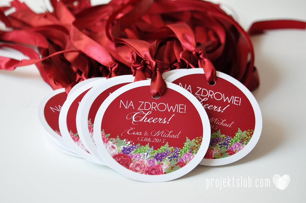 projekt_slub_zawieszki_na_butelki_okragle_kwiatowe_czerwone.JPG