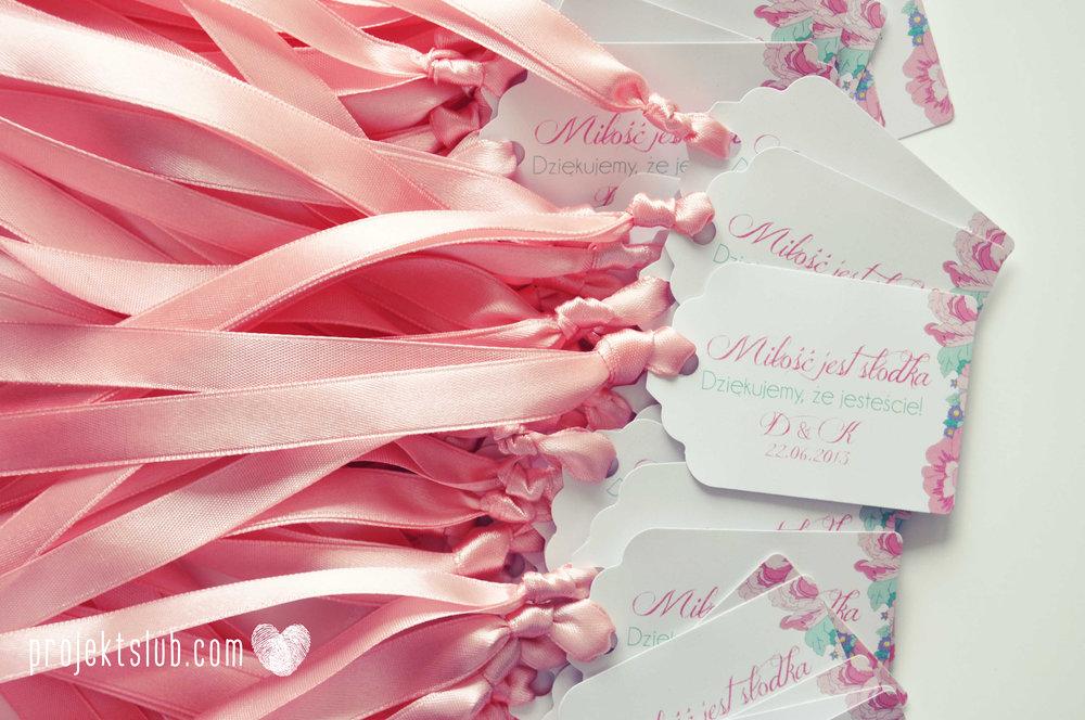 Zaproszenia  ślubne pasteove kwiaty ze wstążką wyjątkowe oryginalne najpiękniejsza papeteria ślubna pudrowy róż mięta Projekt Ślub (6).jpg