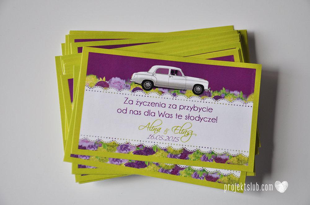 zaproszenia-ślubne-eleganckie-glamour-zaproszenia-z-motywem-auta-samochód-ślubny-mercedes-kwiaty-koronka-biel-fiolet-zieleń-projekt-ślub  (19).JPG