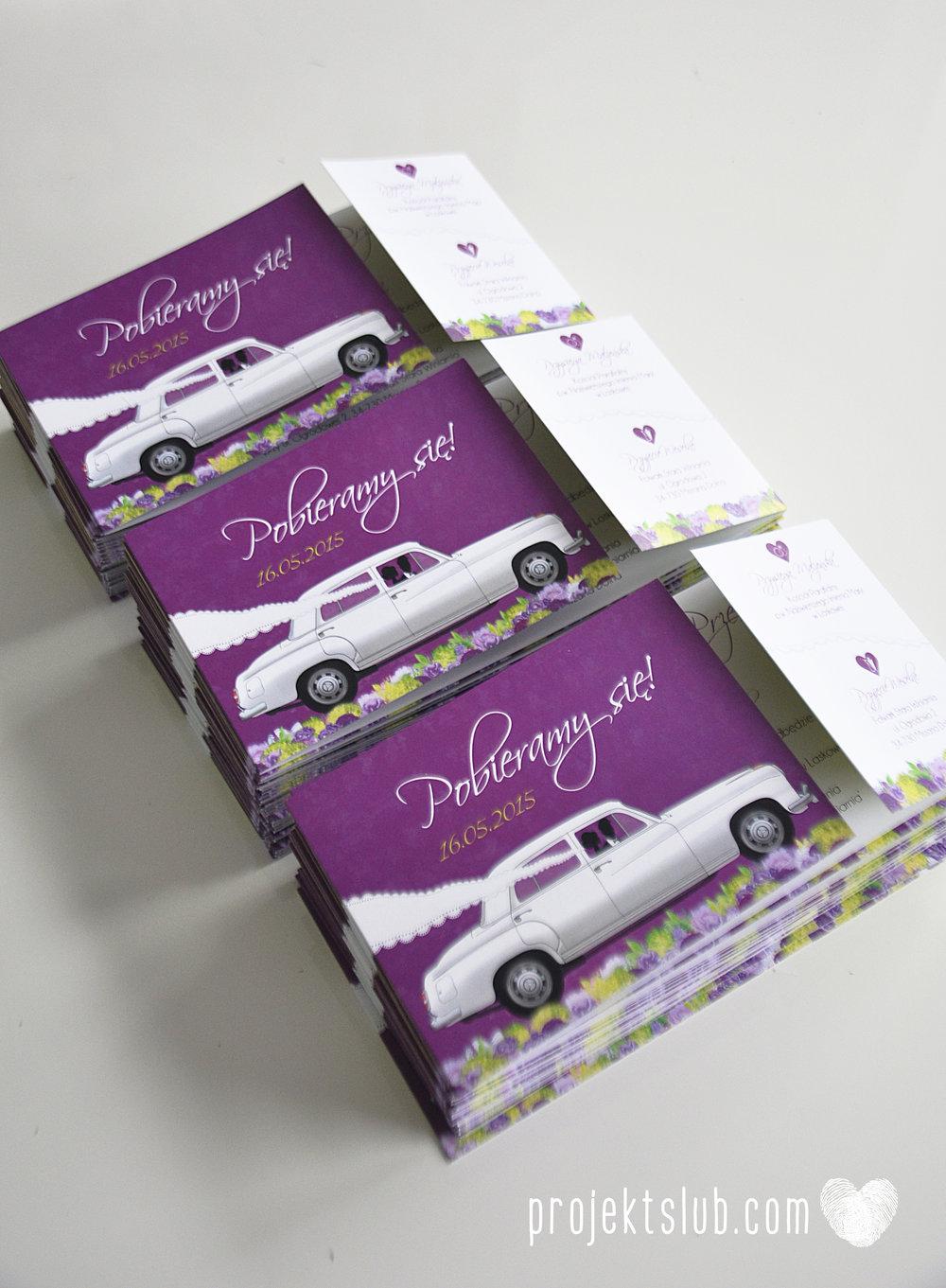 zaproszenia-ślubne-eleganckie-glamour-zaproszenia-z-motywem-auta-samochód-ślubny-mercedes-kwiaty-koronka-biel-fiolet-zieleń-projekt-ślub  (27).JPG
