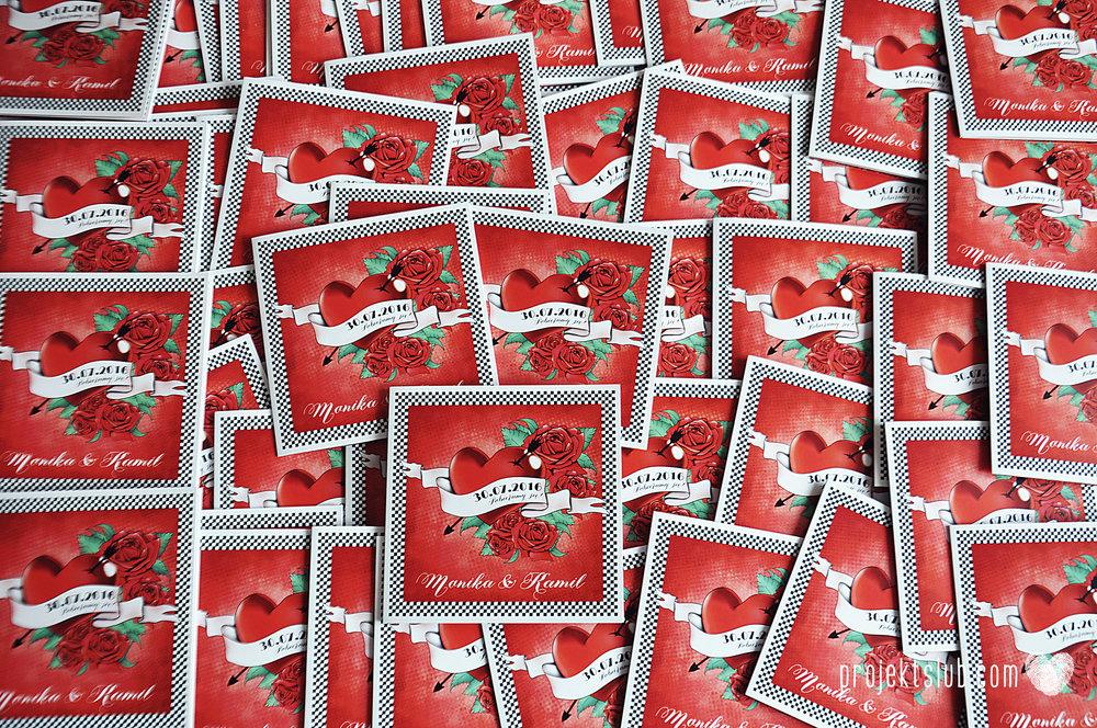 zaroszenie slubne z motywem tatuazu roza czerwony tatuaz serce muzyka ska rockabilly tattoos wedding projekt ślub  (1).JPG