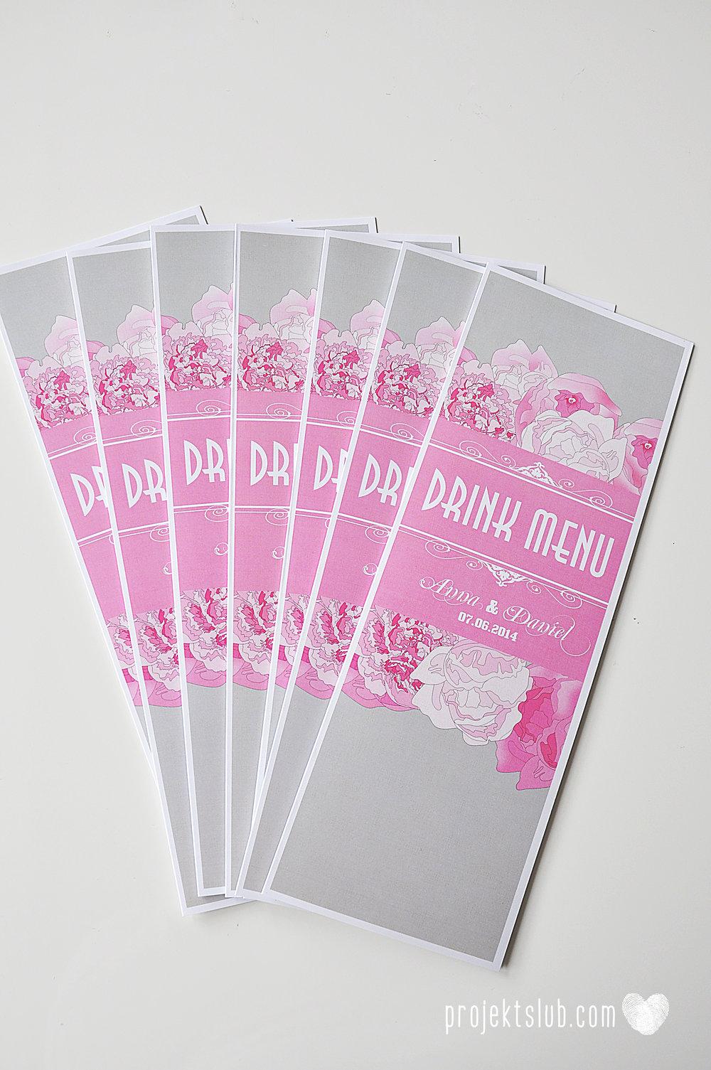Zaproszenia poczuj miętę z motywem młodej pary buty ślubne hobby grafiki zdjęcia szary róż dodatki weselne zawieszki menu papetria projekt ślub (24).jpg