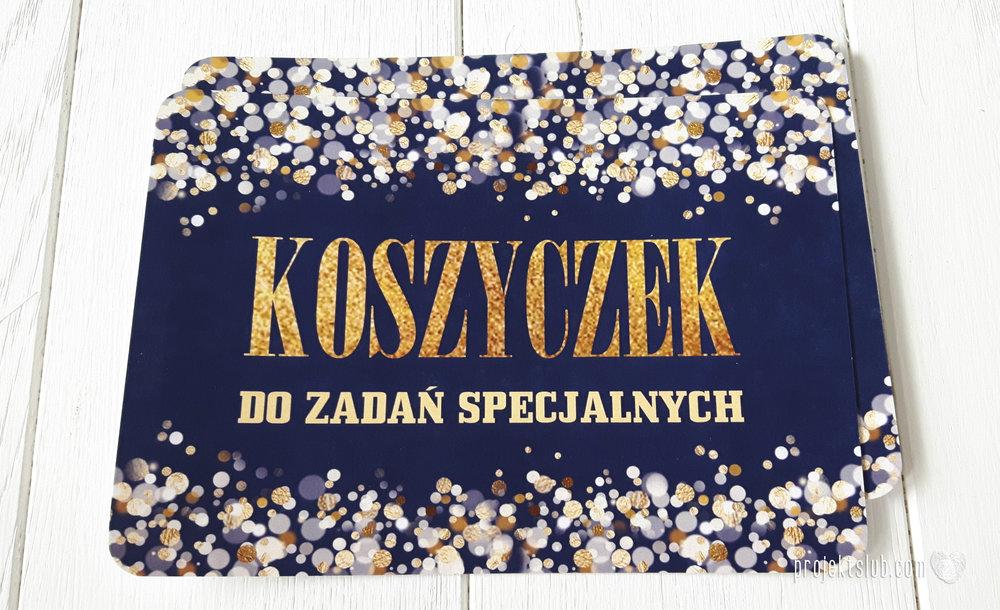 Zaproszenia na ślub i chrzciny projekt indywidualny granatowe elegancka papeteria harmonijka konfetti glamour Projekt Ślub (11).jpg