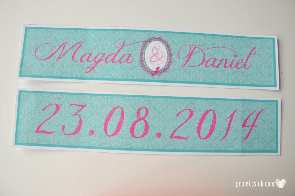 oryginalne zaproszenia ślubne najpiękniejsza papeteria miętowe love mięta malinowa wstążka elegancki projekt ślub (42).jpg