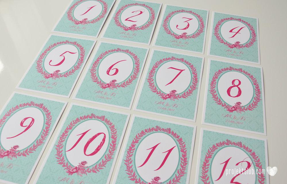 oryginalne zaproszenia ślubne najpiękniejsza papeteria miętowe love mięta malinowa wstążka elegancki projekt ślub (51).jpg