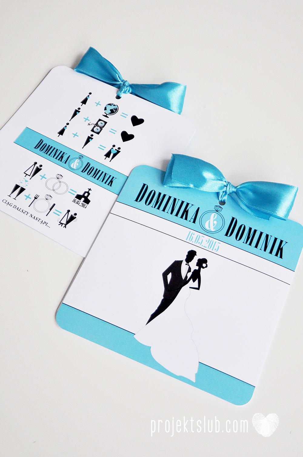 eleganckie zaproszenie ślubne śniadanie u Tiffany'ego 3 błękit biel glamour pierścionek Projekt ślub (6).jpg