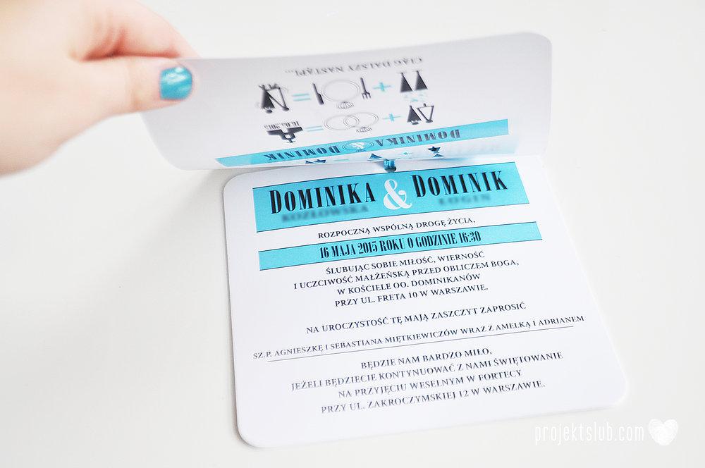 eleganckie zaproszenie ślubne śniadanie u Tiffany'ego 3 błękit biel glamour pierścionek Projekt ślub (8).jpg