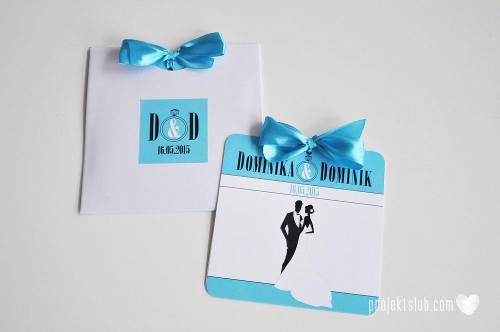eleganckie zaproszenie ślubne śniadanie u Tiffany'ego 3 błękit biel glamour pierścionek Projekt ślub (12).jpg