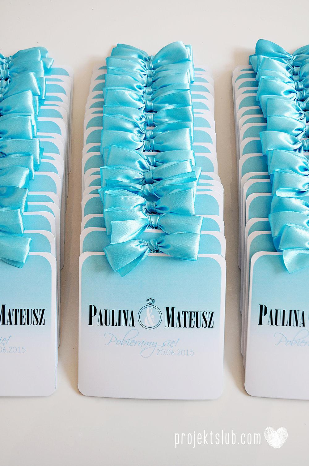 eleganckie zaproszenie ślubne śniadanie u Tiffany'ego 4 błękit biel glamour ombre cieniowane ze zdjęciem graficzne Projekt Ślub (3).jpg
