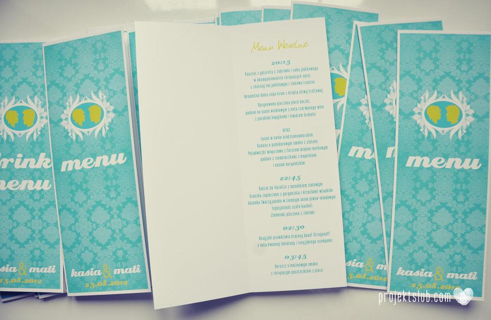zaproszenia ślubne i dodatki weselne turkus kamea piękna elegancka oryginalna papeteria projekt ślub (14).jpg