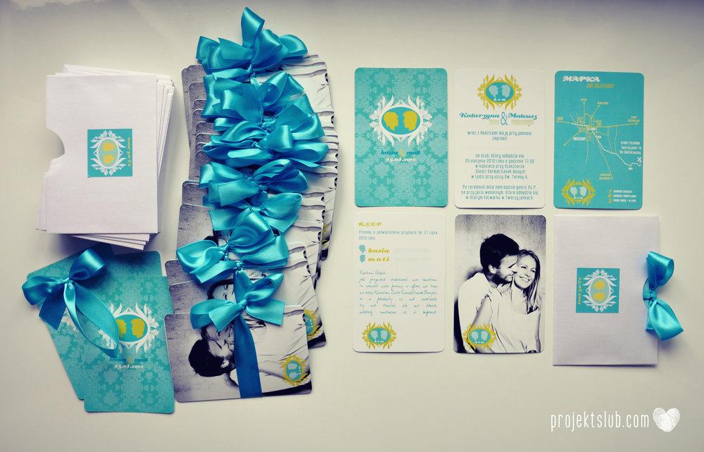 zaproszenia ślubne i dodatki weselne turkus kamea piękna elegancka oryginalna papeteria projekt ślub (24).jpg