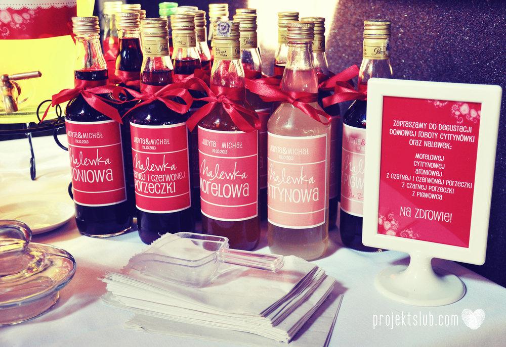oryginalne zaproszenia i dodatki ślubne w odcieniach czerwieni bieli koralu i różu fraktale miłość serce Fraktalove Projekt Ślub (13).jpg