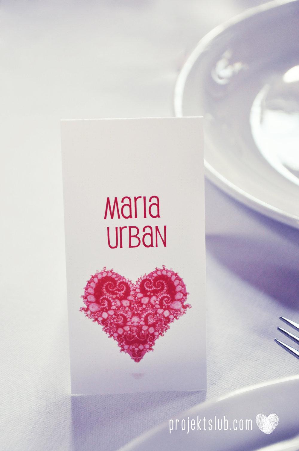 oryginalne zaproszenia i dodatki ślubne w odcieniach czerwieni bieli koralu i różu fraktale miłość serce Fraktalove Projekt Ślub (18).jpg