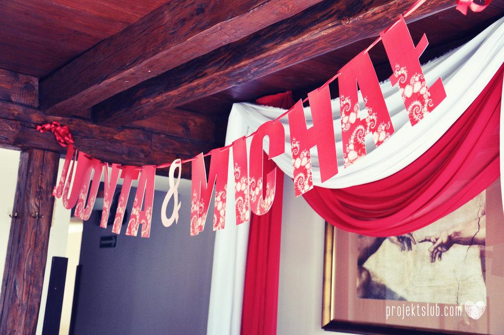 oryginalne zaproszenia i dodatki ślubne w odcieniach czerwieni bieli koralu i różu fraktale miłość serce Fraktalove Projekt Ślub (26).jpg