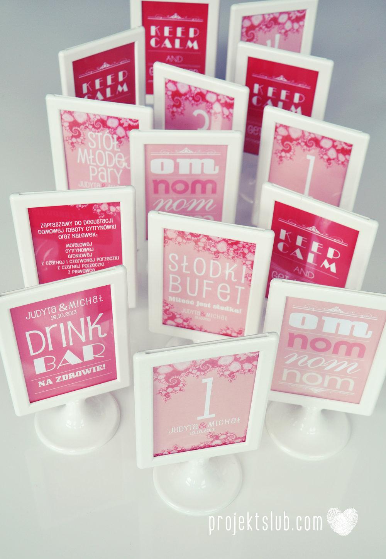 oryginalne zaproszenia i dodatki ślubne w odcieniach czerwieni bieli koralu i różu fraktale miłość serce Fraktalove Projekt Ślub (8).jpg