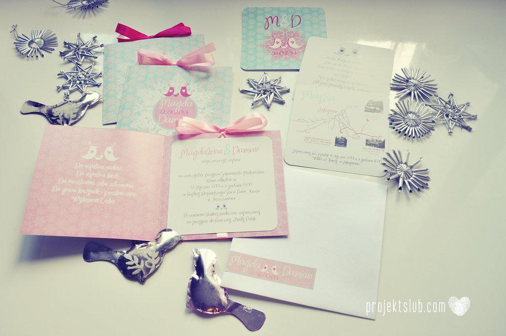 zaproszenia-ślubne-eleganckie-glamour-zimowe-ptaszki-zaproszenia-na-zimowy-ślub-śnieżynki-płatki-śniegu-róż-błękit-biel-zaproszenia- projekt-ślub (1).JPG