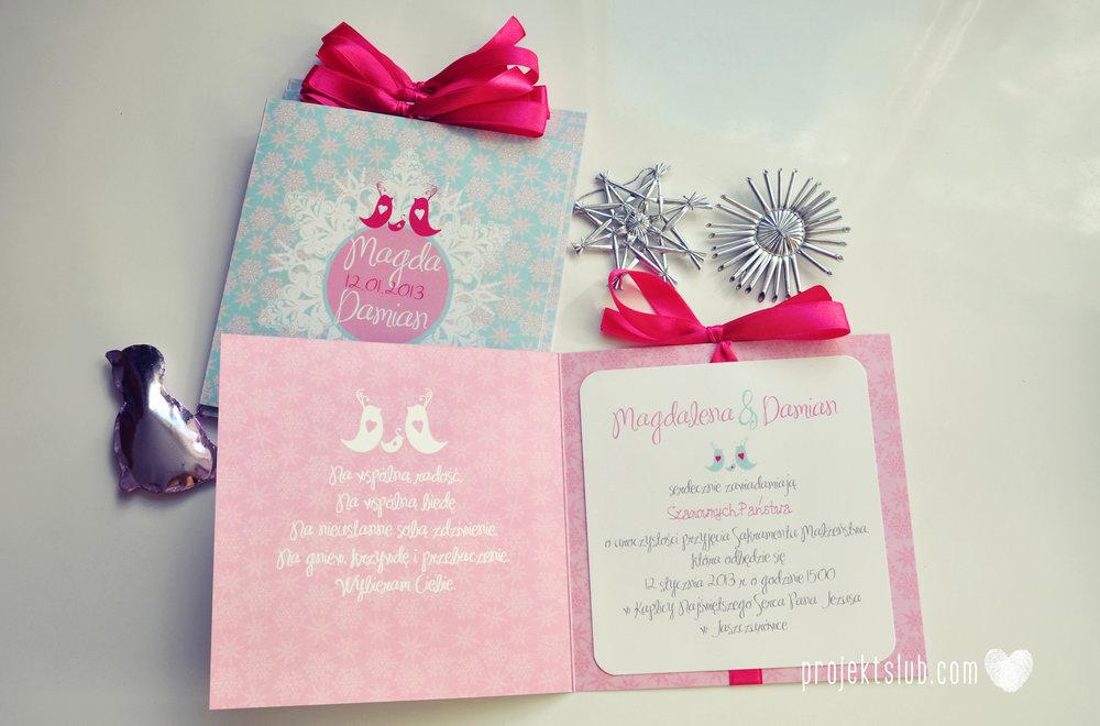 zaproszenia-ślubne-eleganckie-glamour-zimowe-ptaszki-zaproszenia-na-zimowy-ślub-śnieżynki-płatki-śniegu-róż-błękit-biel-zaproszenia- projekt-ślub (8).JPG