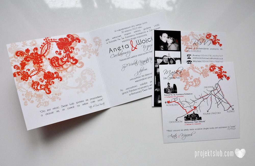 Zaproszenia i dodatki ślubne czerwona elegancja winietki menu zawieszki Projekt Ślub (4).jpg