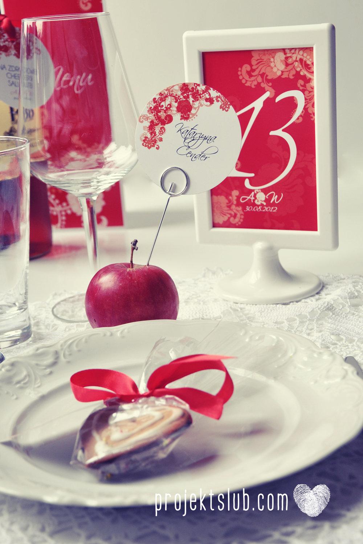 Zaproszenia i dodatki ślubne czerwona elegancja winietki menu zawieszki Projekt Ślub (11).jpg