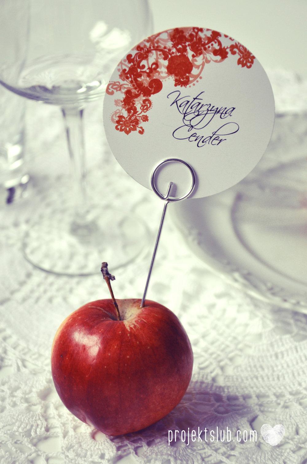 Zaproszenia i dodatki ślubne czerwona elegancja winietki menu zawieszki Projekt Ślub (15).jpg