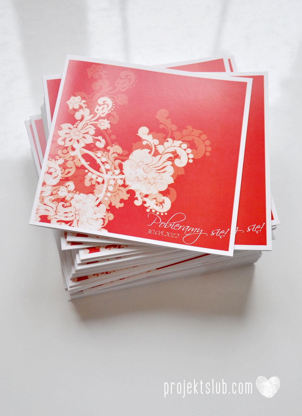 Zaproszenia i dodatki ślubne czerwona elegancja winietki menu zawieszki Projekt Ślub (1).jpg