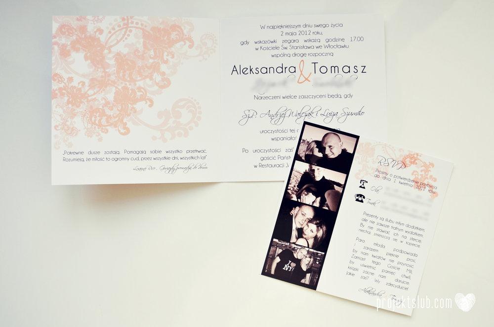 zaproszenia ślubne pudrowa elegancja róż pastele delikatne graficzne motywy klasyczny format projekt ślub (4).jpg