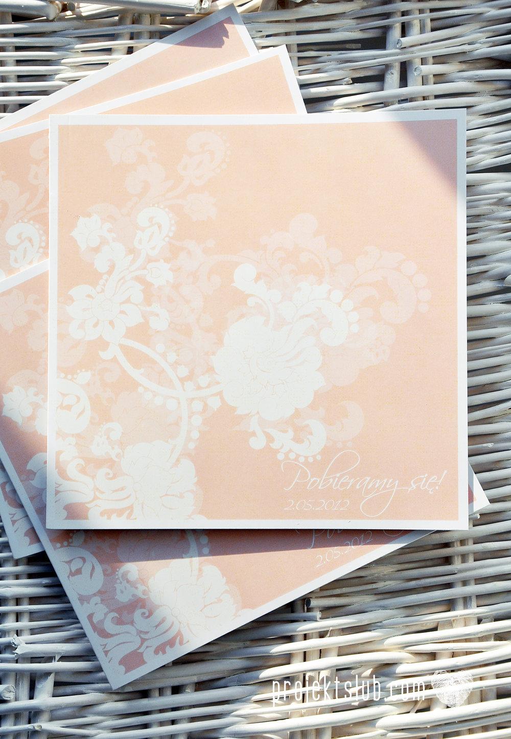 zaproszenia ślubne pudrowa elegancja róż pastele delikatne graficzne motywy klasyczny format projekt ślub (3).jpg